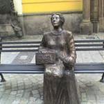 Memorial to Maria Cunitz in Poland