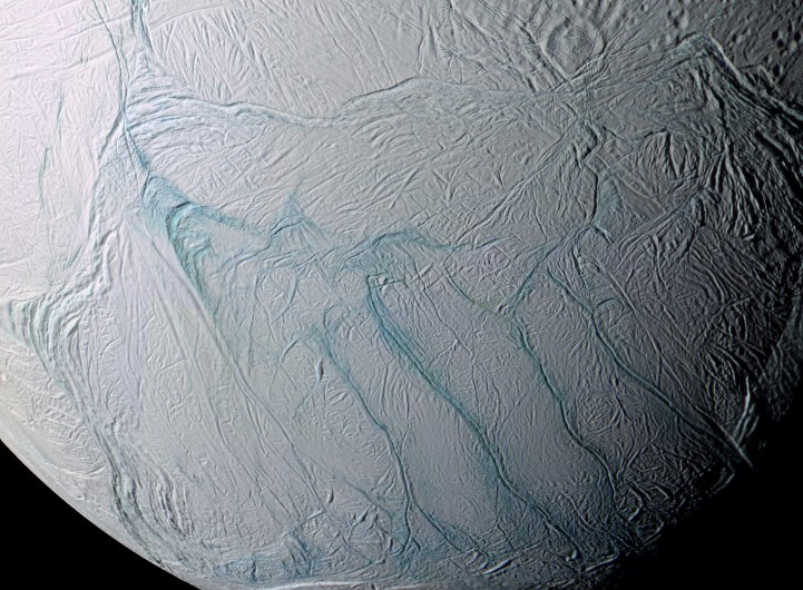 Enceladus' Tiger Stripes
