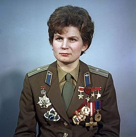 Valentina Tereshkova (Image Credit Wikimedia)